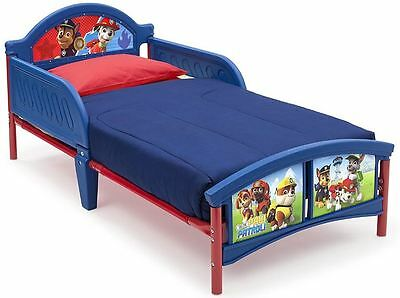 Delta Children Paw Patrol Plastic Toddler Bed , With Protective Side Guards