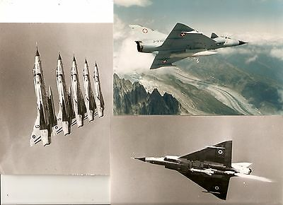 x9  ORIGINAL  DASSAULT MIRAGE PHOTOGRAPHS,   7x5  inch
