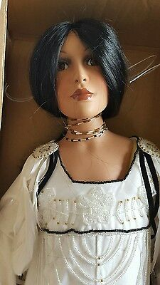 """Timeless American Indian Collection """"Angel Peace"""" 30 Inch Native Doll with Stand"""
