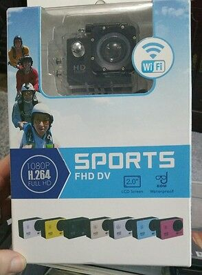 1080p 12mp wifi waterproof sports action camera HD. Brand new. Similar to GoPro