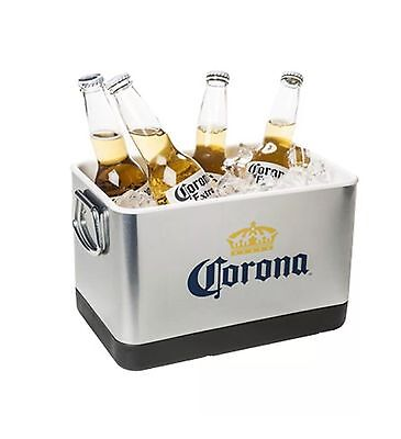 Corona Extra Mini Stainless Steel Cooler Ice Bucket New In Box Unused