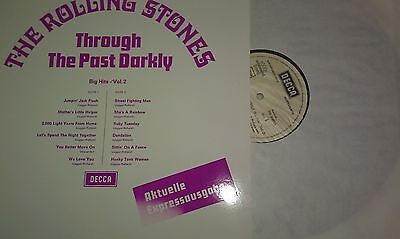 LP  ROLLING STONES *** THROUGH THE PAST BH Vol.2 *** AKT.EXPRESS RE