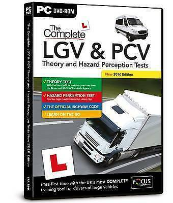 The Complete LGV & PCV Theory and Hazard Perception Tests: 2016 by Focus Multim…