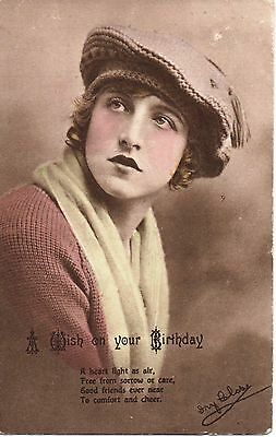 Ivy Close Greetings Card  posted 1919