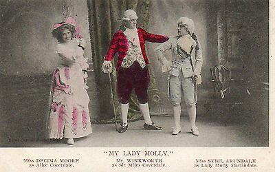 "Miss Sybil Arundale & Co.  in ""My Lady Molly""  Posted 1904"