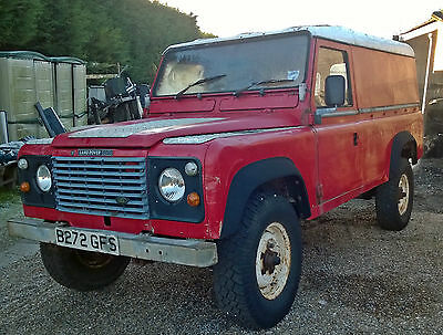 Land Rover 110 Hard Top 2.5N/A Diesel restoration project Delivery available