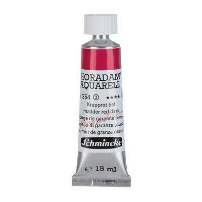 (69,87€/100ml) Schmincke 15ml HORADAM Aquarell Krapprot tief Aquarell  14 354 00