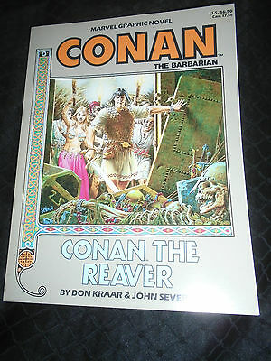 Conan the Barbarian Conan the Reaver Don Kraar John Severin Marvel Graphic Novel