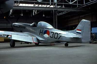 Original aircraft  slide  RNLAF  P51  H-307