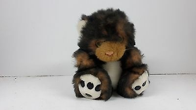 Lovely Soft Toy Cat, No Tags, No Label, Black,brown,white,