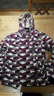 billabong ladies ski jacket size 12