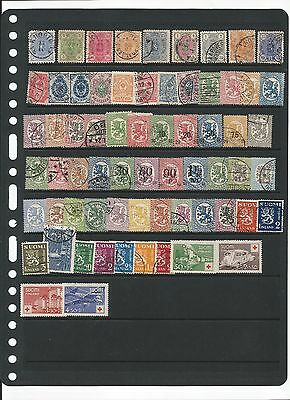 Finland, Suomi, Lot Of Mh & Used Stamps
