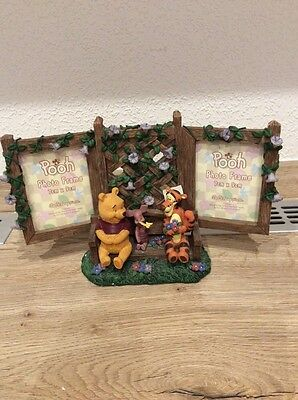 Disney Winnie the Pooh Double Photo Frame. New