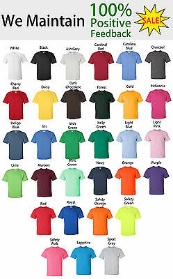 Gildan Ultra Cotton Youth Crew Neck Short Sleeve T Shirt 2000B LOWEST PRICE