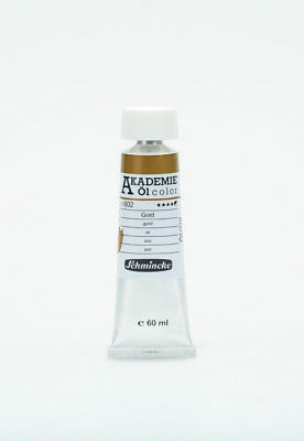 (10,85€/100ml) Schmincke 60ml AKADEMIE Oel color Gold Oel  41 802 011