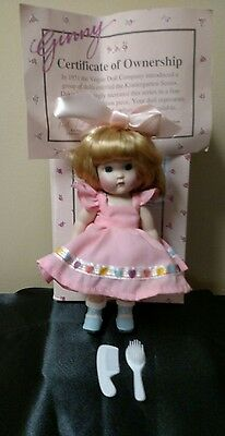 Limited Edition Porcelain Vogue Ginny Doll w/o stand