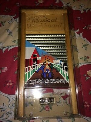 NEW Country Jamboree Authentic Musical Washboard instrument BAND FUN kids adult