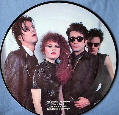 """The Cramps – An Interview (Original Limited Edition 7"""" Vinyl) Excellent++ !,"""