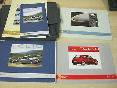 Renault Clio Owners Manual Handbook  2005-2009  Petrol And Diesel Inc Clio Sport