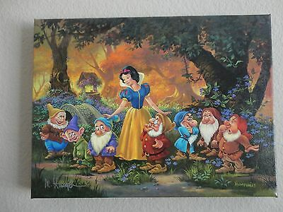 """Disney Fine Arts - Snow White """"Among Friends"""" LE Giclee by Michael Humphries"""