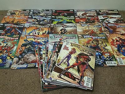 Teen Titans Vol.3 #35 to 84 DC Comics Job Lot Collection Geoff Johns & Others
