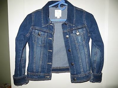 Tcp - Girls - Super Cute Jean/denim Jacket -  Size 10/12 (L)