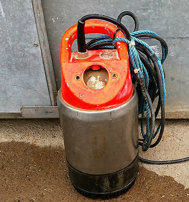 FLYGT SUBMERSIBLE WATER PUMP 110/115v IN GWO