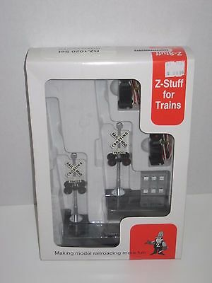Z-Stuff for Trains DZ-120 O scale Crossing Signal Pair w/ (2) Block Signals