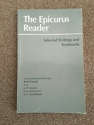 The Epicurus Reader: Selected Writings and Testimonia ( - Paperback NEW Epicurus