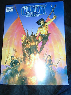 Conan the Barbarian Conan of the Isles Marvel Graphic Novel