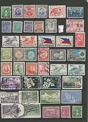 Philippines Stamps From An Old Album (6)