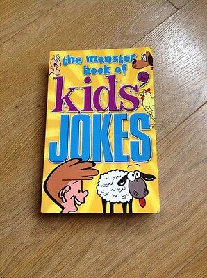 The Monster Book of Kids' Jokes by Arcturus Publishing Ltd (Paperback, 2008)