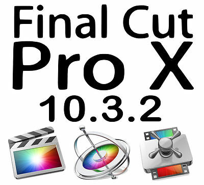 Final Cut Pro X 10.3.2 - Motion & Compressor - ONLY 100% GENUINE LISTING HERE!