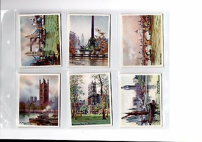 J. PLAYER 1931 - PICTURESQUE LONDON - SET of 25