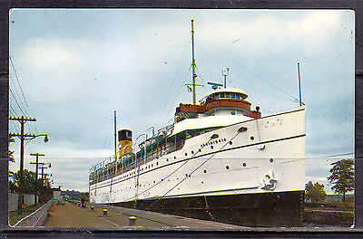 S. S. Assiniboine, Canadian Pacific Great lakes Cruise Ship, Soo Locks