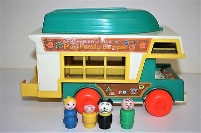 FISHER PRICE #994 Play family Camper '72 Vintage