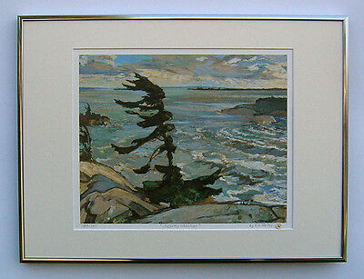 """Group of Seven, F. H. Varley """"Stormy Weather"""" Limited Edition Framed Print"""