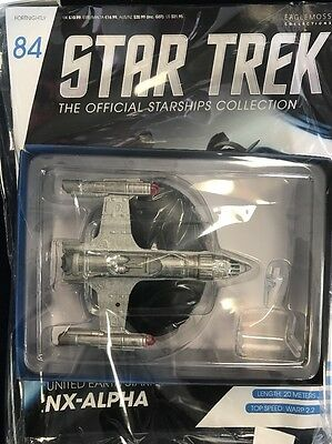 NX Alpha United Earth #84 Star Trek Official Starships Collection, Sealed NIP