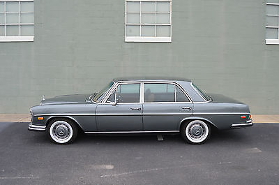 1972 Mercedes-Benz 200-Series 300SEL 4.5 1972 MERCEDES BENZ 300SEL 4.5 EXCELLENT ONE OWNER SURVIVOR DRIVES BEAUTIFULLY