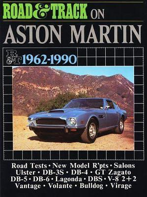 Road and Track on Aston Martin 1962 -1984 Reprints of Road and Track Tests