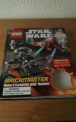 Genuine LEGO Empty box & instructions for STAR WARS Brickmaster makes 8 models