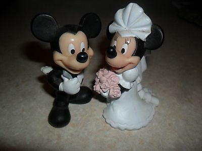 Mickey And Minnie Bride And Groom