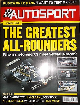 Autosport - 9 Feb 2017 - Great All-Rounders, Stirling Moss, Vic Elford, Bathurst