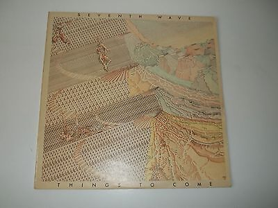 """Seventh Wave Lp """"things To Come"""" 1974 Gull Gulp 1001  Stereo  Vg+/ex"""