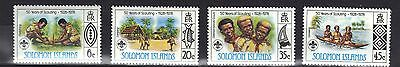 Solomon Islands. Scouts 1978 Mnh