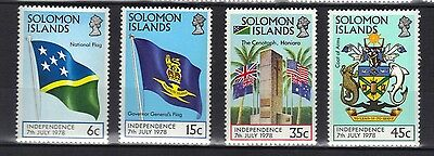 Solomon Islands. Independence 1978 Mnh