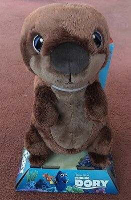Disney Pixar Finding Dory 10 Inch Otter Soft Toy New