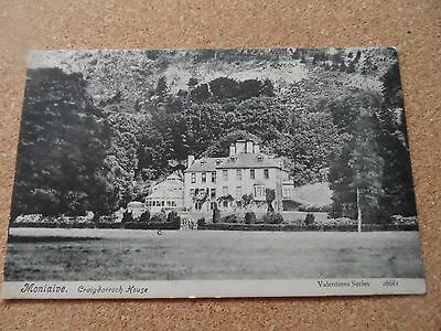 Early Postcard Ofcraigdarroch House Moniaive Thornhill 1909