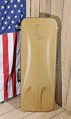 2015 Gibson USA Les Paul Gold 100th Anniversary HardShell Guitar Case Molded!!