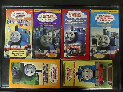 6 Thomas The Tank Engine VHS Tapes